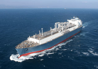 World's first newbuild LNG floating storage regasification unit