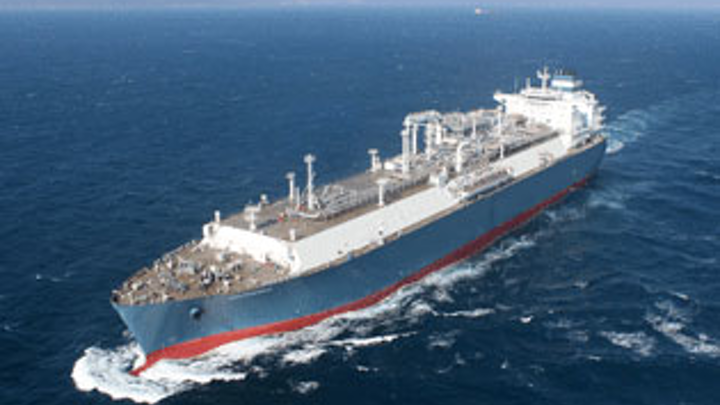 World's first newbuild LNG floating storage regasification unit