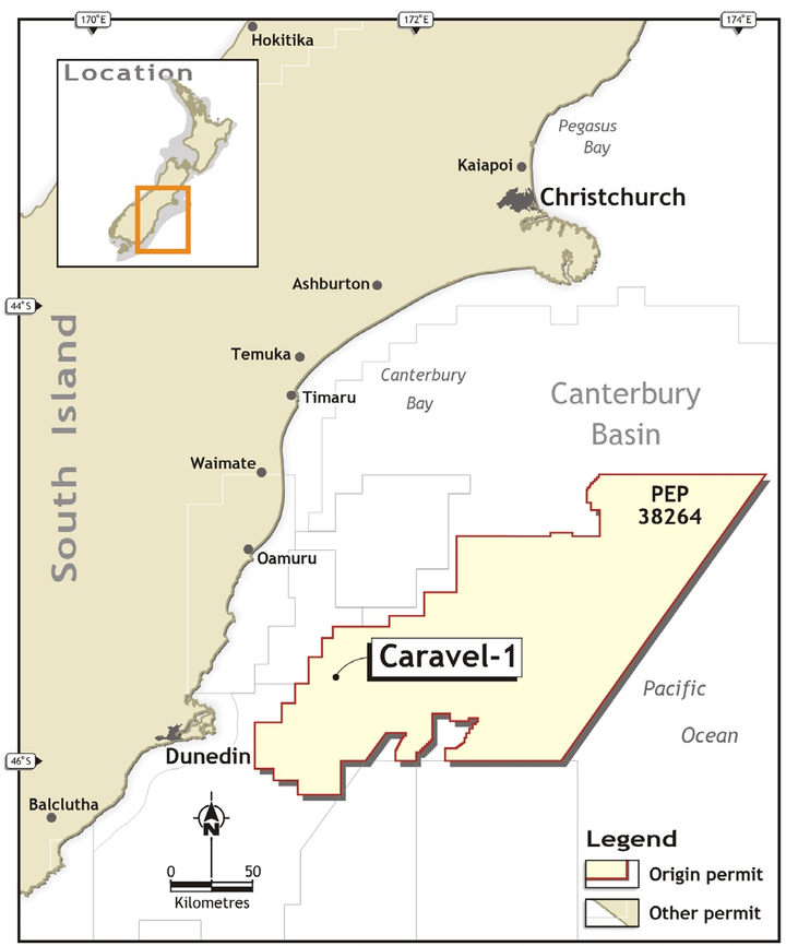 Canterbury basin