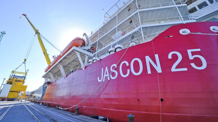 Sea Trucks' Jascon 25 vessel