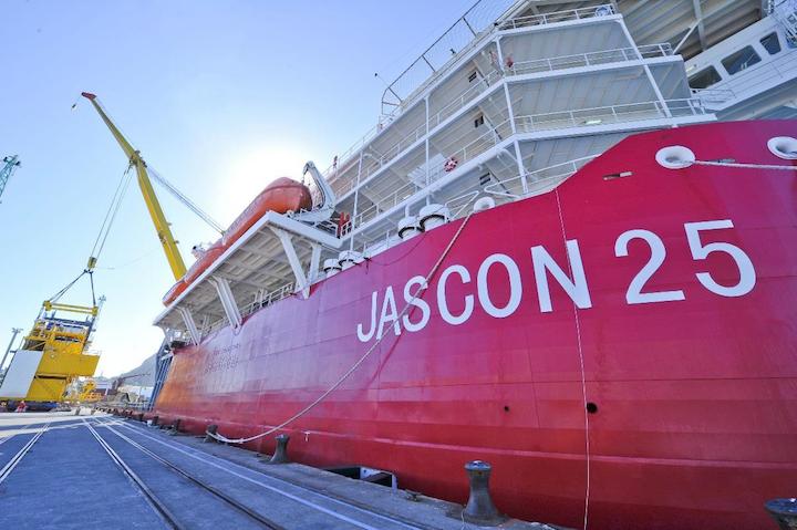 Sea Trucks' Jascon 25 vessel