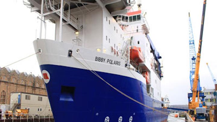 Bibby Offshore's dive support vessel Polaris