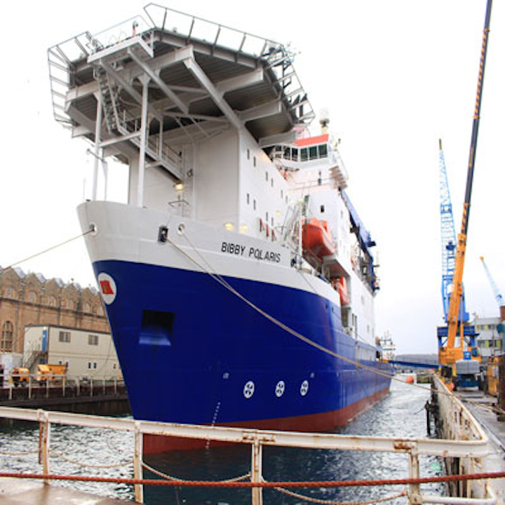 Bibby Offshore's dive support vessel Polaris