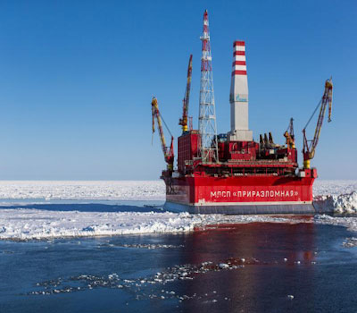 Gazprom Neft Arctic oil and gas
