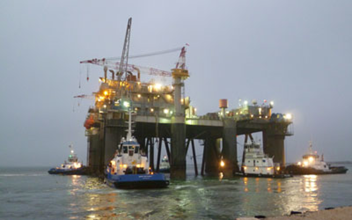 Innovator platform at Gomez field in deepwater Gulf of Mexico