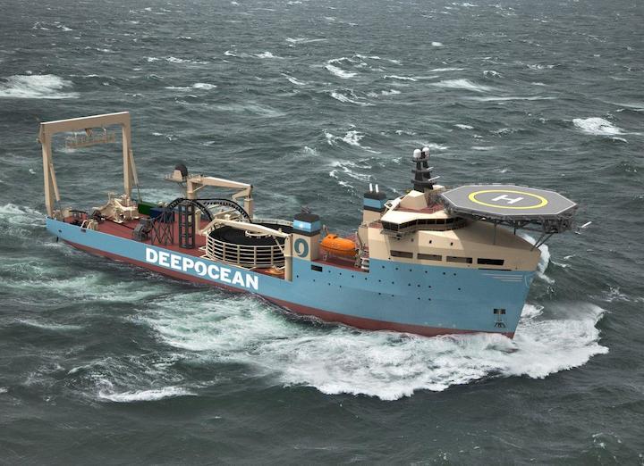 DeepOcean, a Damen DOC 8500 offshore carrier