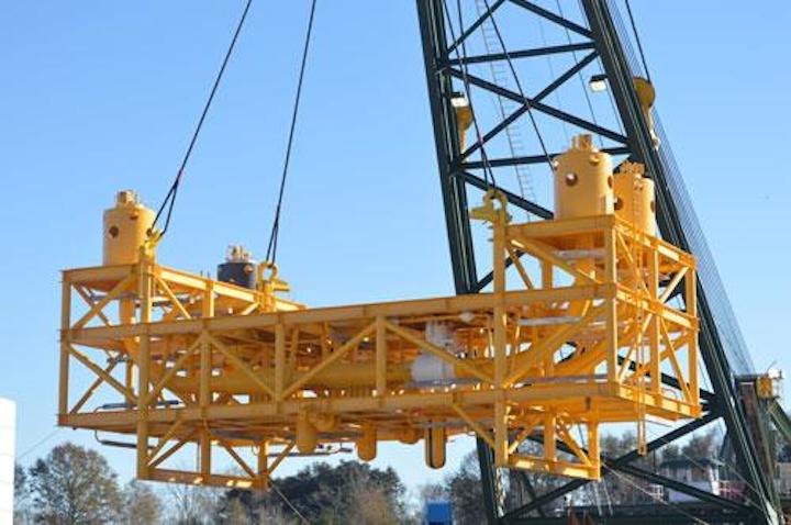 New Industries Inc. has completed its 173-ton Big Foot Intermediate Manifold.