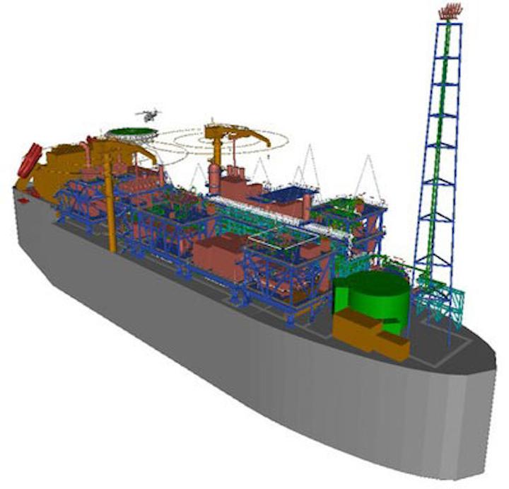 Aibel Premier Oil's Catcher FPSO