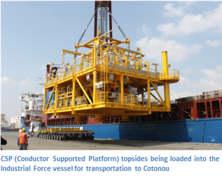 Aquaterra Energy conductor supported platform