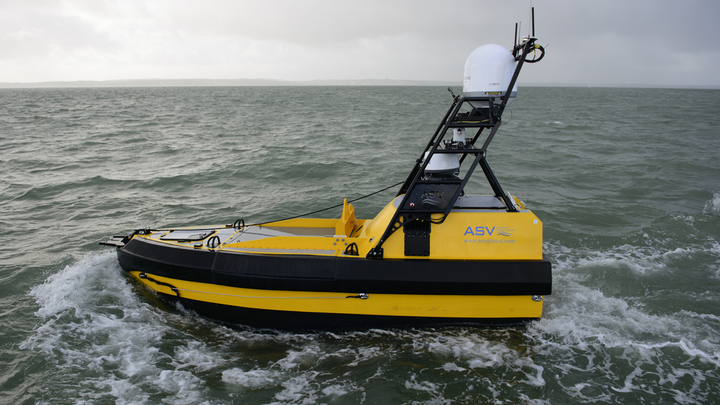 ASV is successfully demonstrating its new C-Worker unmanned service vehicle.