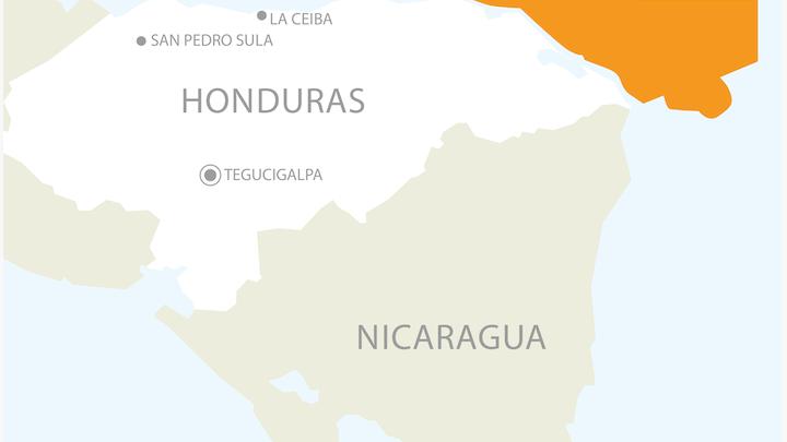 BG holding offshore Honduras