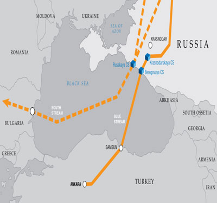 Blue Stream and South Stream offshore pipeline