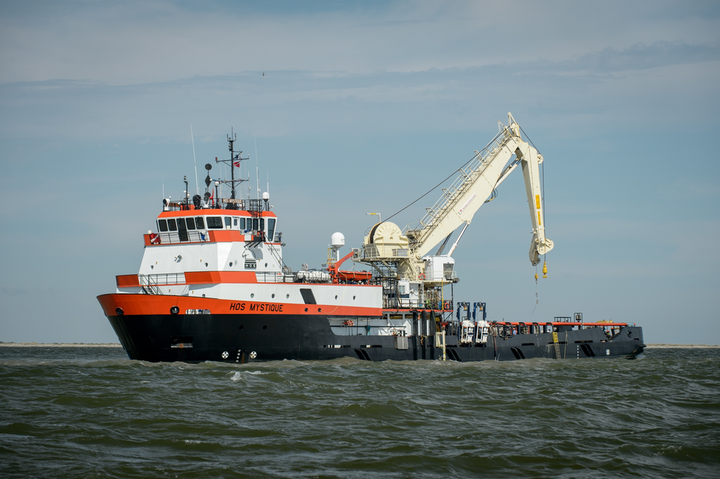Harkand has a charter agreement with Hornbeck Offshore for the HOS Mystique.