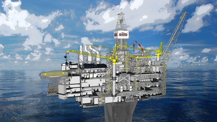 KCA Deutag will provide drilling operations and maintenance services for the Hebron platform.