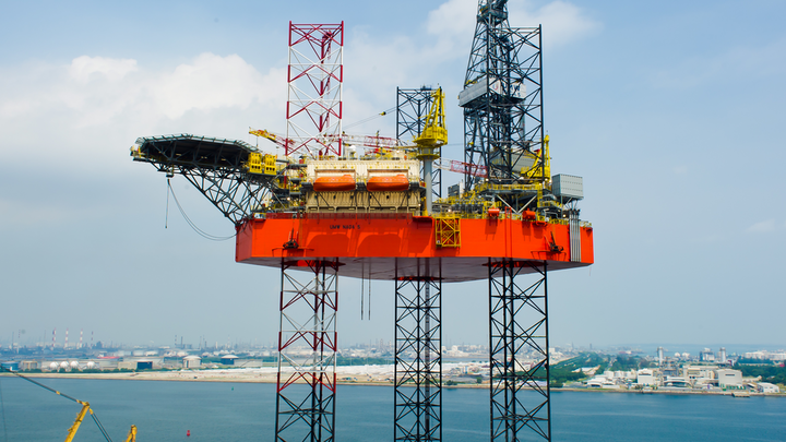 Keppel FELS Ltd. has delivered the UMW Naga 5 jackup ahead of schedule.