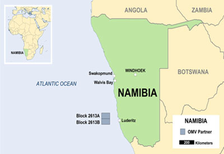 OMV offshore Namibia