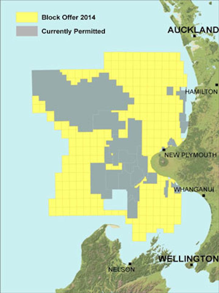 Offshore New Zealand Block Offer 2014