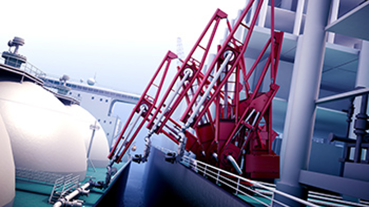 FMC Technologies offshore footless loading arm (OLAF)