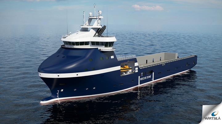 Wärtsilä is designing a new series of platform supply vessels that can operate in harsh arctic conditions.