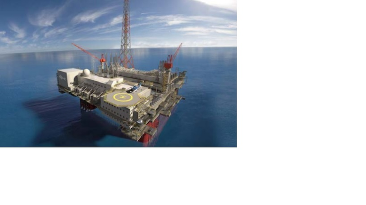 he Ichthys LNG Project has reached a milestone on the fabrication of its Central Processing Facility.