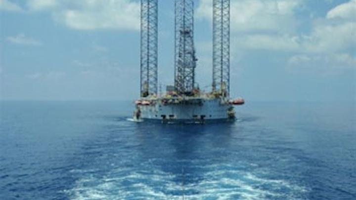 Naga 3 jackup drilling rig