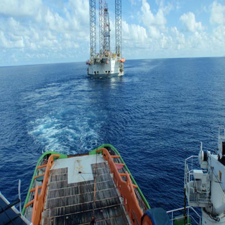 Naga 3 jackup drilling rig offshore Vietnam