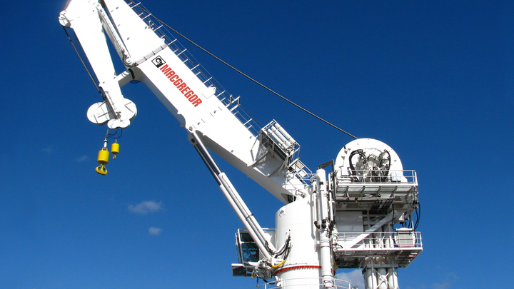 MacGregor has contracts for four subsea cranes with Coastal Contracts Bhd.