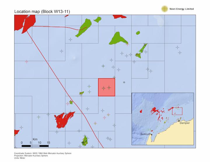 Neon Energy Ltd. has been awarded the WA-503-P offshore petroleum exploration permit.