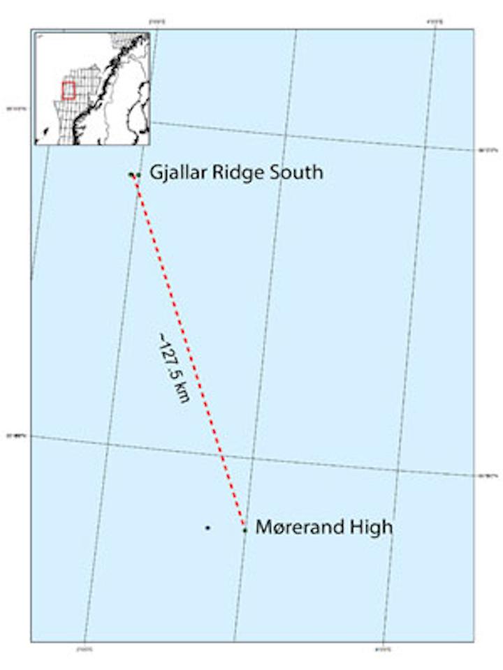 Mørerand High and Gjallar Ridge South