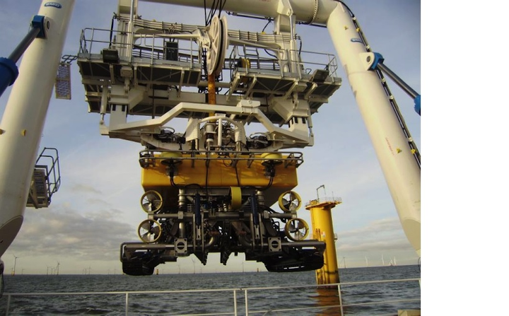Reef Subsea's Q1000 jet trencher will work on the Sierra L5 pipeline for GDF Suez.