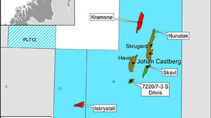 Statoil Barents Sea Drivis