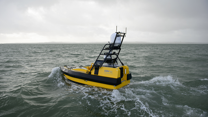 ASV Ltd.'s C-Worker 6 is world's first unmanned oil and gas workboat.