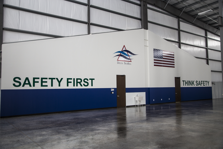 Safety is a priority at Delta SubSea's new tooling solutions facility.