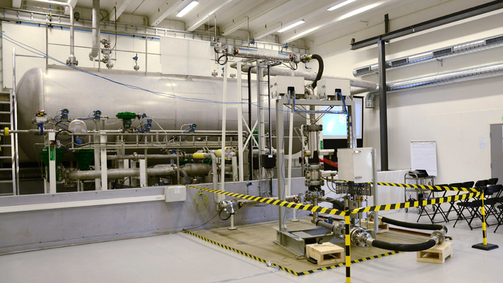 Emerson Process Management has opened a new flow loop facility in Stavanger, Norway.