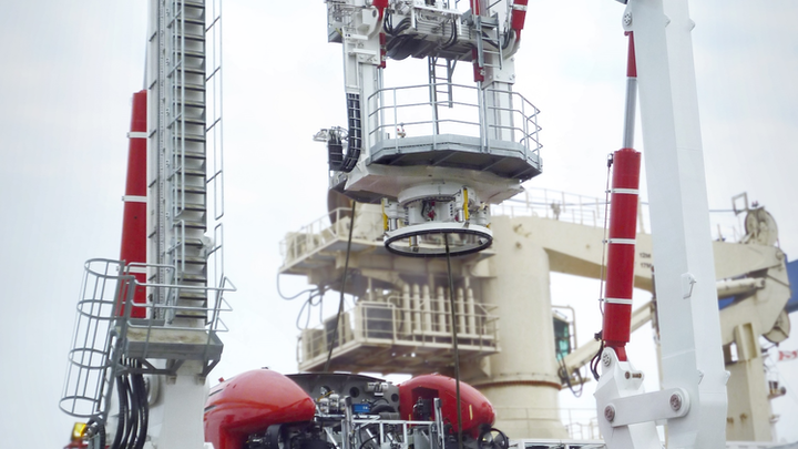 Protea has delivered a trencher handling system to Canyon Offshore Ltd.