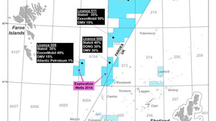 Brugdan II re-entry well offshore the Faroe Islands