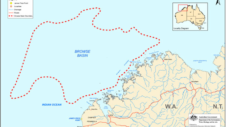 The Browse basin offshore Western Australia