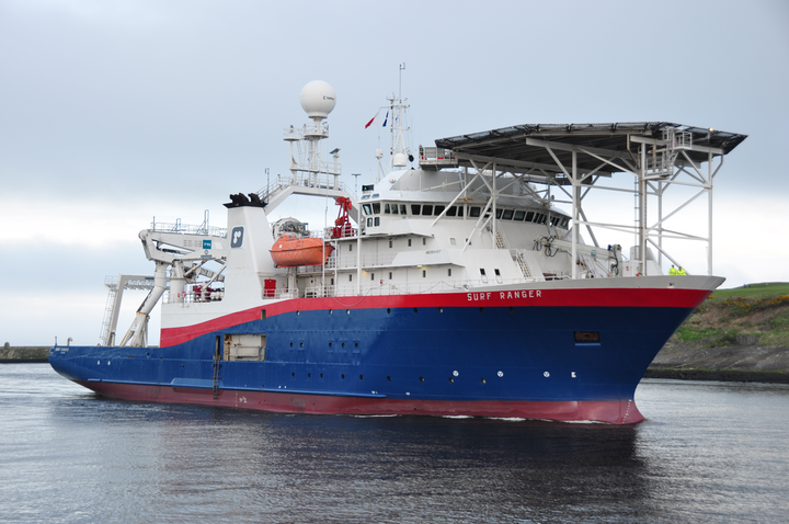 Harkand is deploying the Surf Ranger in the North Sea for Nexen Petroleum UK Ltd.