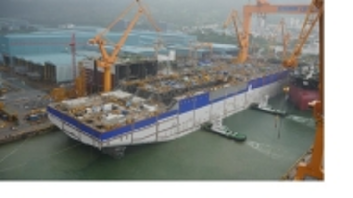 INPEX has now launched the hull of its FPSO facility for the offshore Ichthys LNG Project.