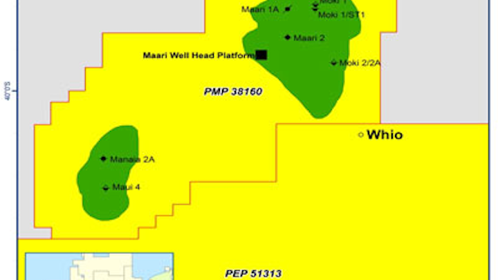 Whio-1 exploration well New Zealand Cue Energy Resources