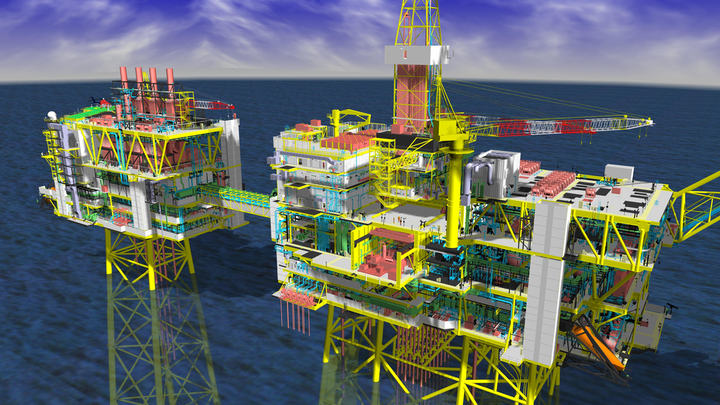 Synectics is providing surveillance systems for the Clair Ridge development in the North Sea.