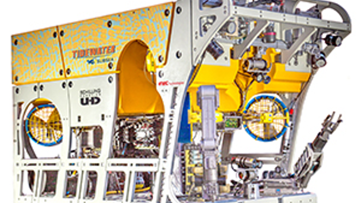 Tidewater Subsea has ordered two UHD-III ROVs from FMC's Schilling Robotics business unit.