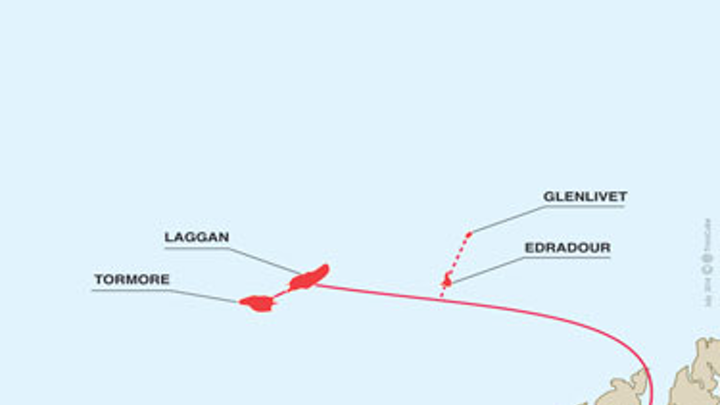 Edradour gas field
