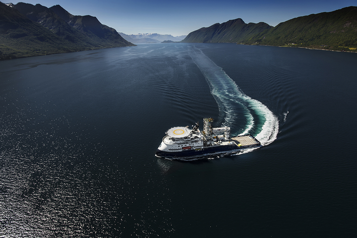 The new Island Performer will soon be working in the Gulf of Mexico.