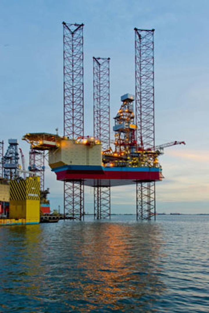 Maersk XLE-2 jackup drilling rig