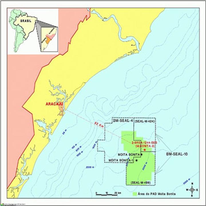 Petrobras Moita Bonita offshore Brazil