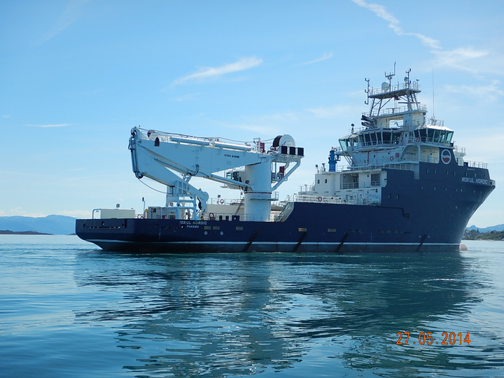Statoil has contracted the new Mokul Nordic vessel for a North Sea charter.