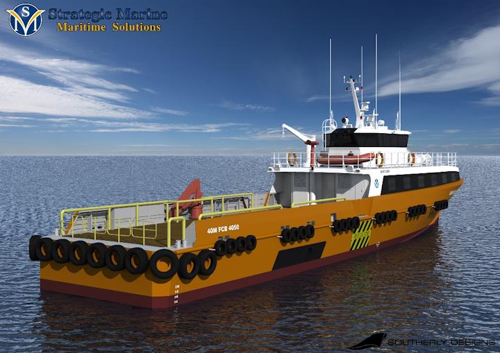 Strategic Marine has unveiled its Generation 3 crew transfer vessel.