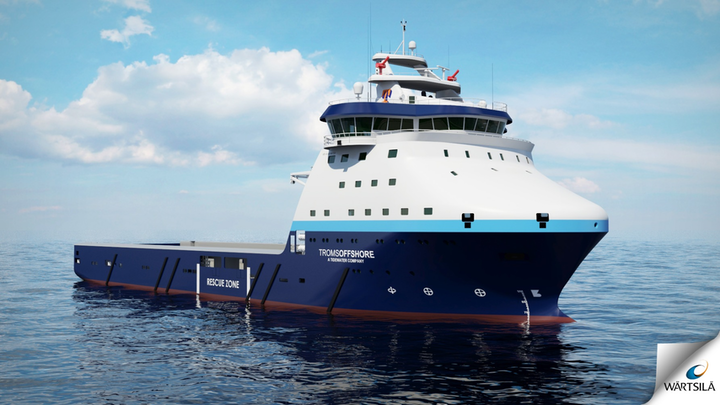 Wärtsilä has been contracted to provide a new MPSV that will be operated by Troms Offshore Supply Group.