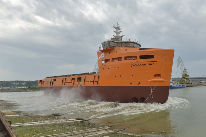 Damen launches first PSV 3300 vessel for PROMAR